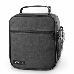 Insulated Lunch Bag for Men Women, Reusable Lunch Box for Bo