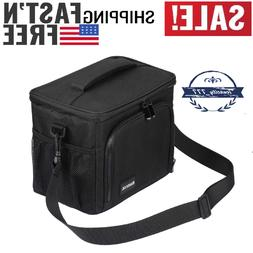 Insulated Lunch Bag Large Lunch Box with Strap Cooler Bag Le