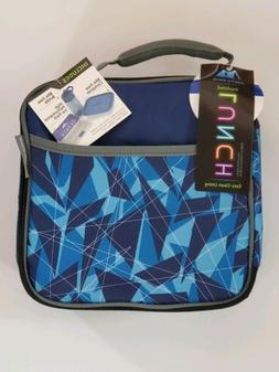 Arctic Zone Insulated Lunch Box Bag Cooler Blue With Contain