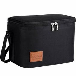 Aosbos Lunch Box Bag for Women Men Insulated Cooler Bags The