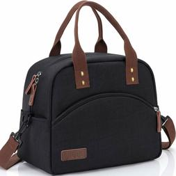 Insulated Lunch Box Bag with Detachable Shoulder Strap & Car
