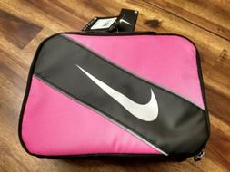 Nike Insulated Lunch Box Pink & Black