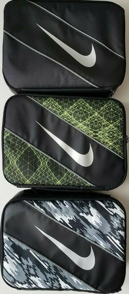 Nike Insulated Lunch Box Tote Adult  Student Reflective Soli
