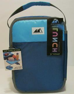ARCTIC ZONE INSULATED LUNCH BOX ZIPPERLESS LID BUILT IN LUNC