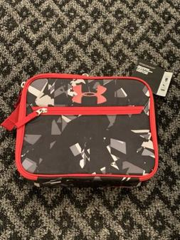Under Armour Insulated Lunch Cooler Black Red Boys Lunch Box
