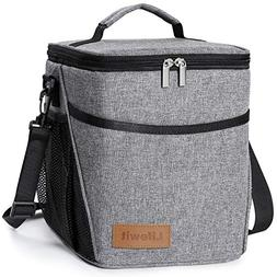 Insulated Lunch Box Thermal Bento Bag Cooler Large Camping P