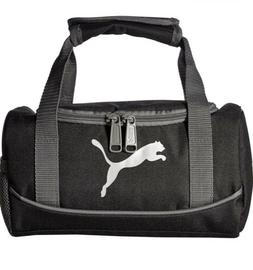Puma Insulated Tote Lunch Bag Small Duffle Grey/Black Box NW
