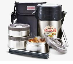 Japanese Double Wall Stainless Steel Food Thermos Insulated