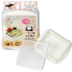 Japanese Lunch Box Plastic Onigirazu Onigiri Rice Sandwich L