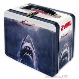 Jaws Lunch Box - Retro Looking Lunchbox With Vintage Movie P