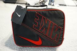 NIKE JUMP MAN LUNCH BOX/BAG UNISEX RED/BLACK/SILVER JUMPMAN