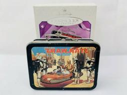 Hallmark Keepsake Star Wars X-Wing Pressed Tin Lunch Box Orn