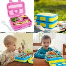 Kids Bento Lunch Box Nomeca Durable LeakProof 4Compartment F
