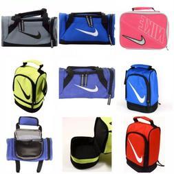 NIKE Kids Insulated School Lunch Box Bag Duffel 10X5 Swoosh