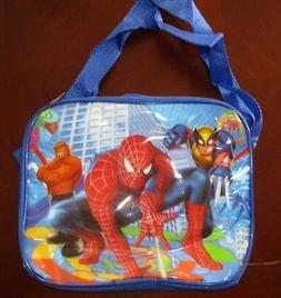 Kids School Lunch Box Spiderman Lunchbox Children Back to Sc