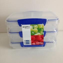Sistema Klip It Collection 3-Pack Small Split Food Storage C