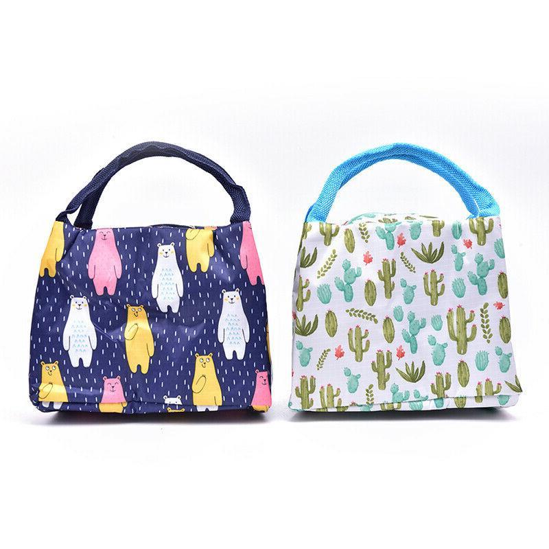 1Pc Lunch Bag Bag lunch Box W4