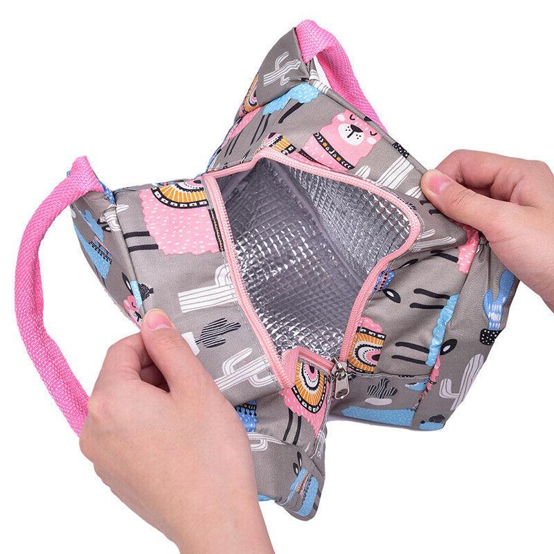 1Pc New Bag Women Bag Kids lunch Box W4