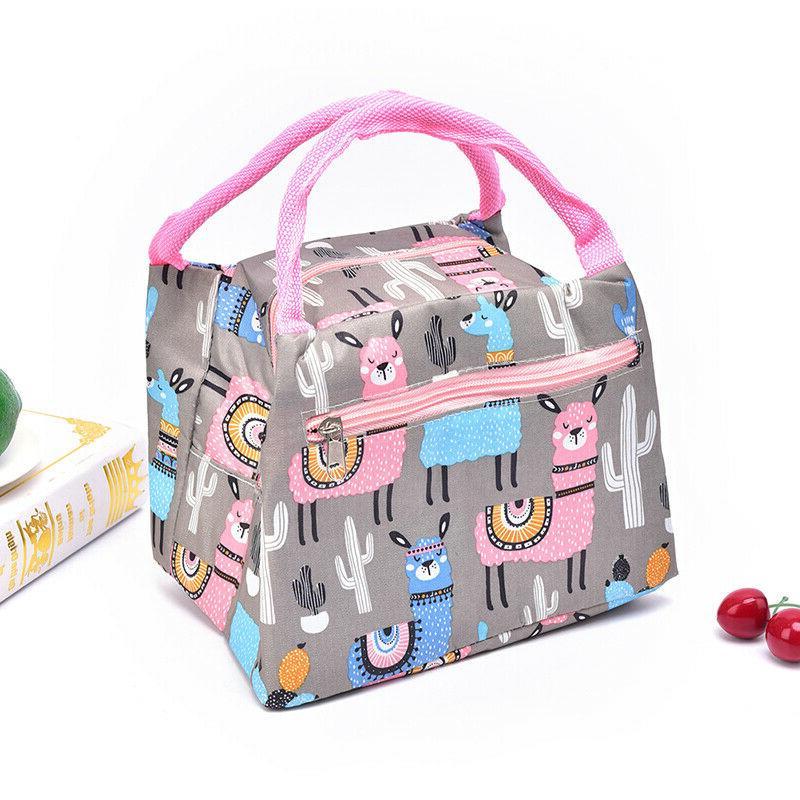 1Pc Portable Bag Bag lunch W4