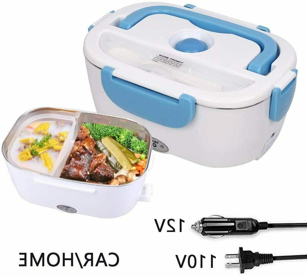 2 Lunch Box for Men Heater Warmer