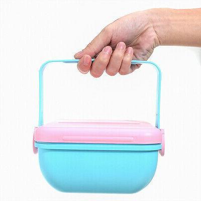 2 Bowl Picnic Portable Kids