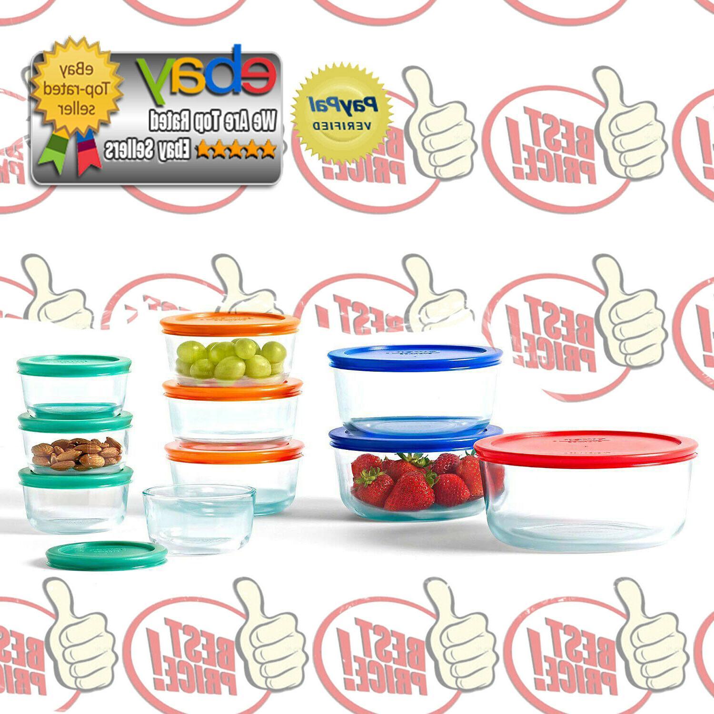 Pyrex Piece Glass Storage Lunch Safe