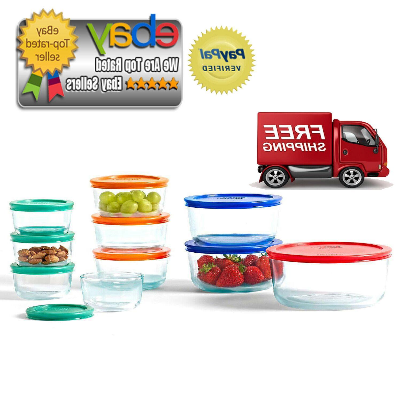 20 piece kitchen glass food storage set
