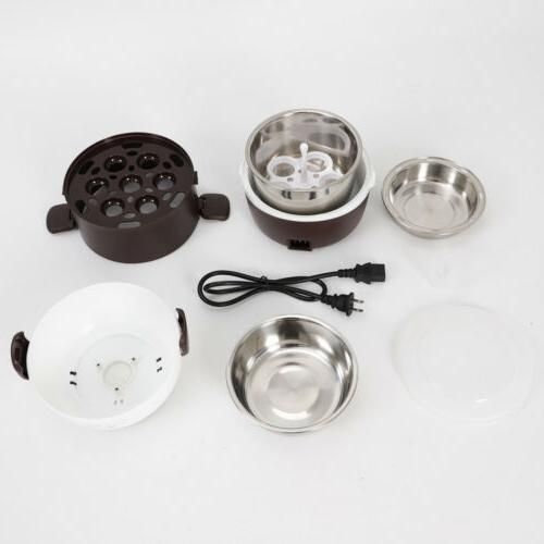 2L Lunch Box Steamer Rice Cooker Pot