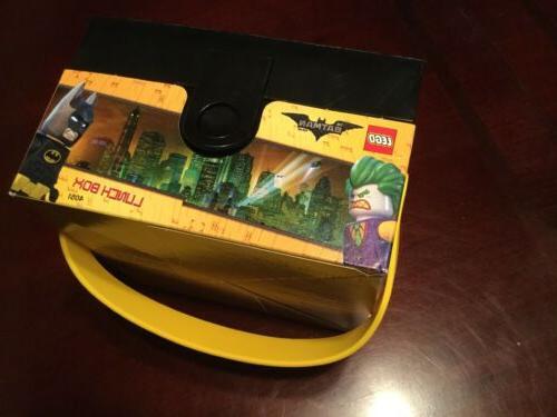 LEGO BATMAN MOVIE LUNCH w/ Handle