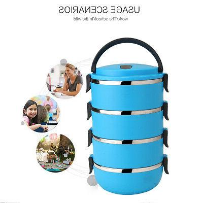 4 Layers Insulated Food Container