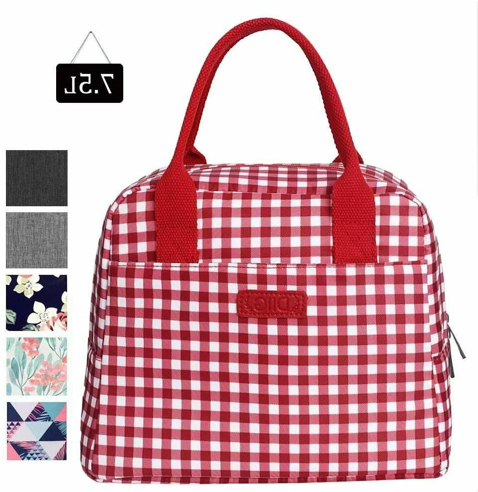7.5L Box Thermal Cooler Minimalism Tote Bag Office Picnic