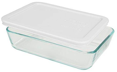Food Containers White Lunch Storage ,And Baking Dish )