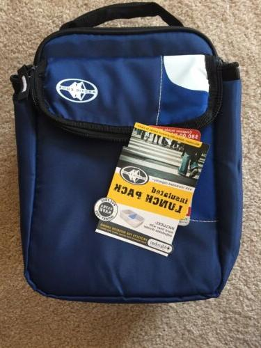 arctic zone insulated lunch pack with hard