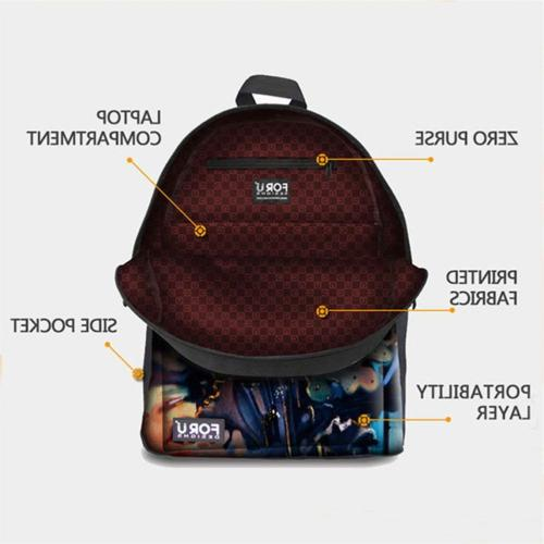 FOR Junior Boys Girls Middle School Bags Lunch