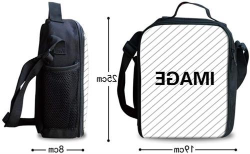 FOR U Junior Boys School Bags Set Lunch Box