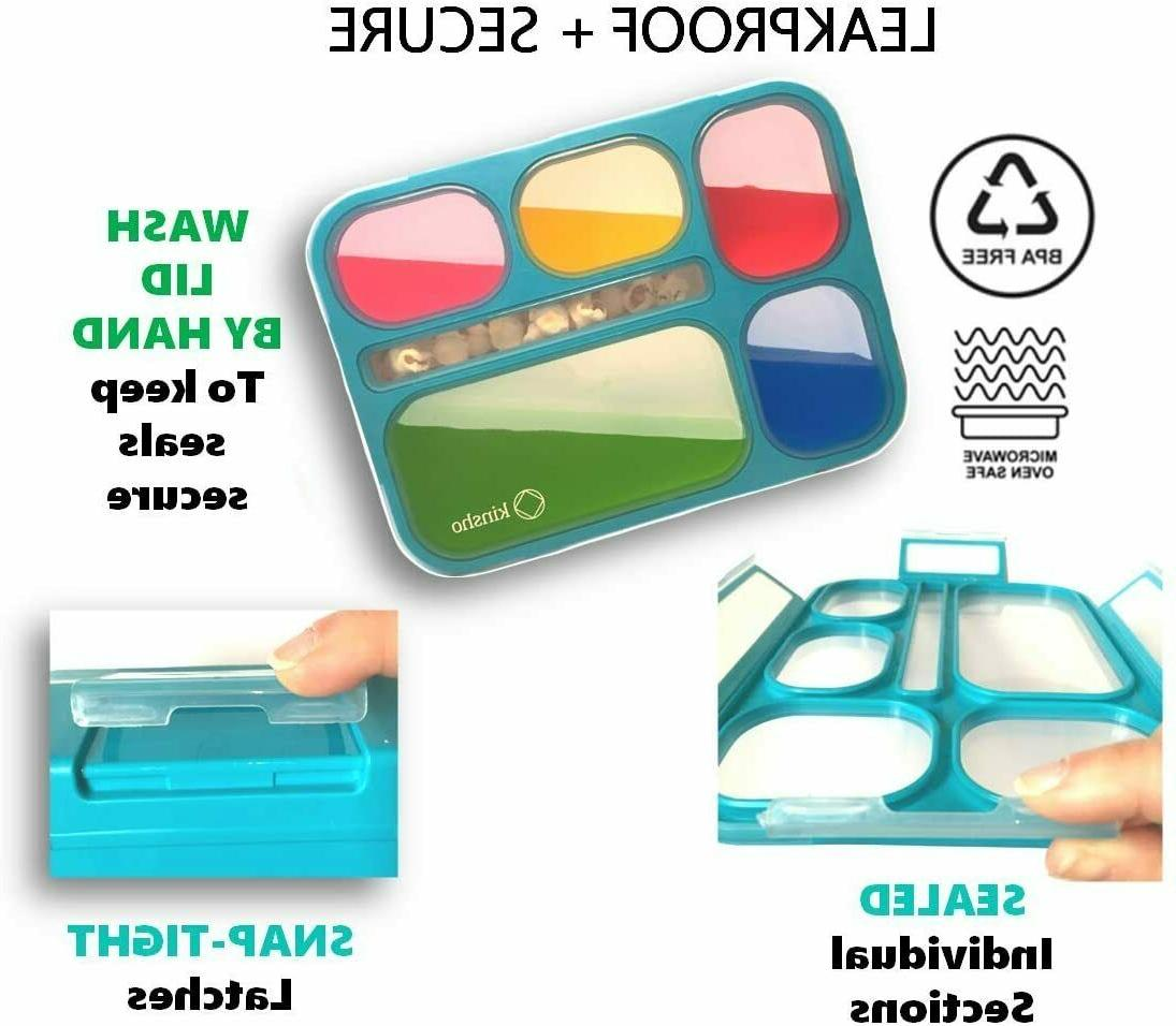 Bento With And Ice Pack Lunch Boxes Snack For Kids