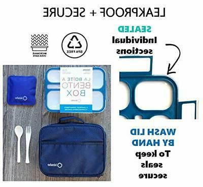 Bento-Box with Ice Set. Boxes Snack for Kids