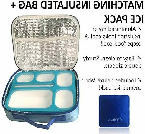 Bento With And Ice Pack Set For