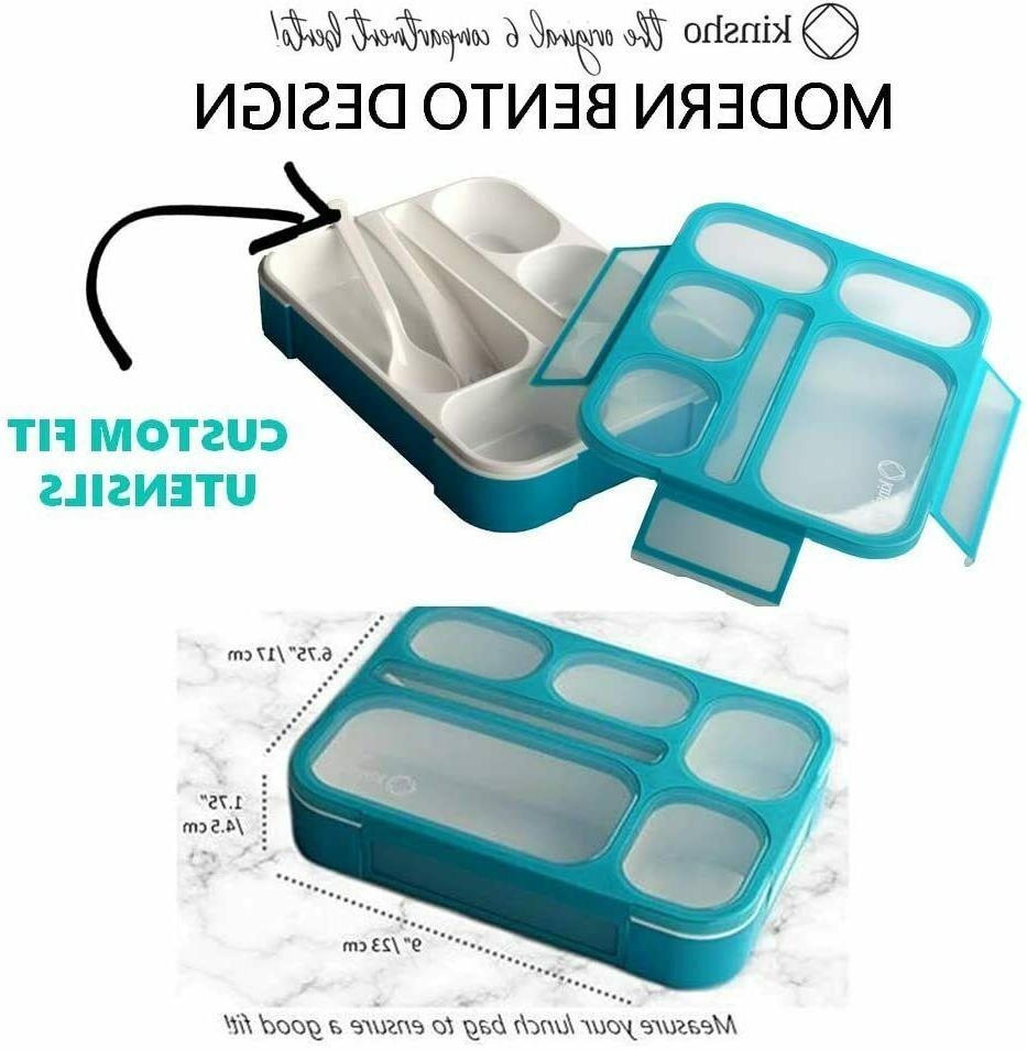 Bento Box With And Ice Lunch For Kids