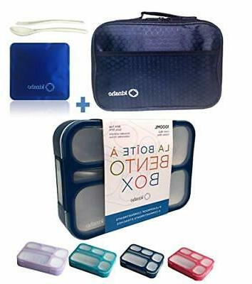 bento box with bag and ice pack