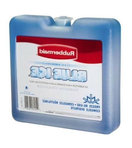 """Rubbermaid Blue Ice 4-Pack 7"""" x For or Ice"""