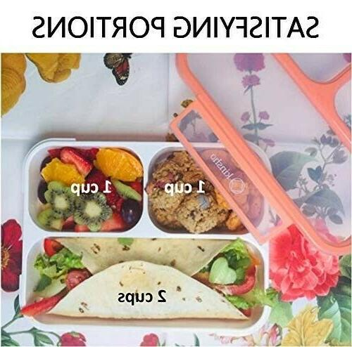 BPA-Free Portable Lunch Microwave Dishwasher Safe