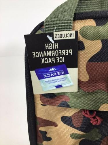 Arctic Zone Lunch Bag With Tags And Ice