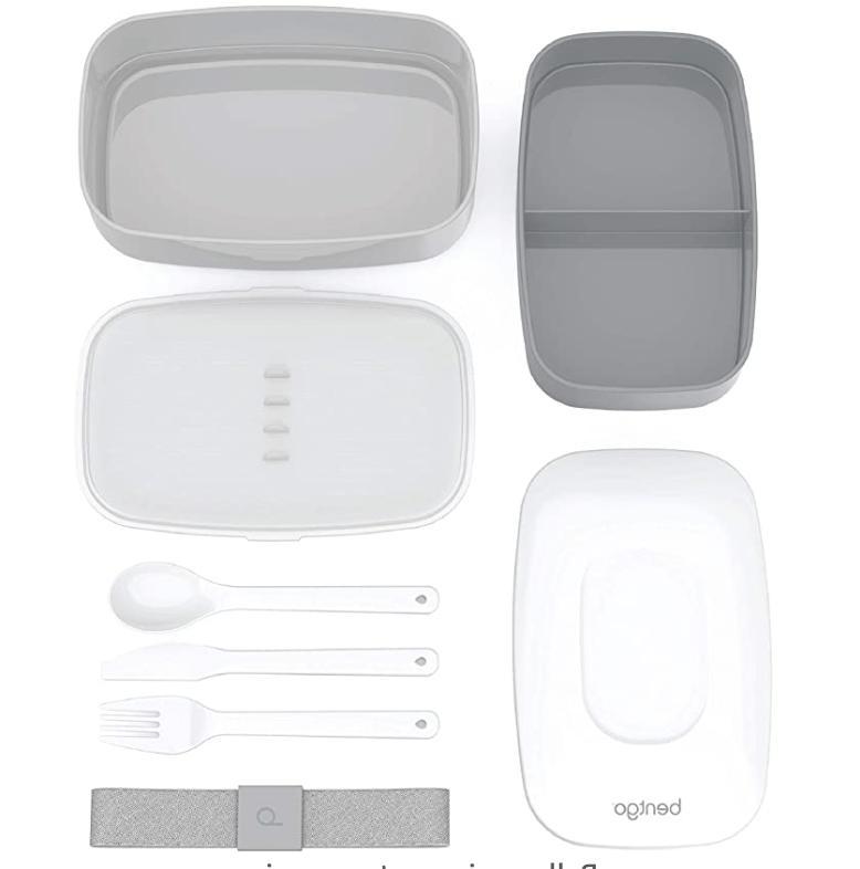 Bentgo Stackable Box 2 with utensils,