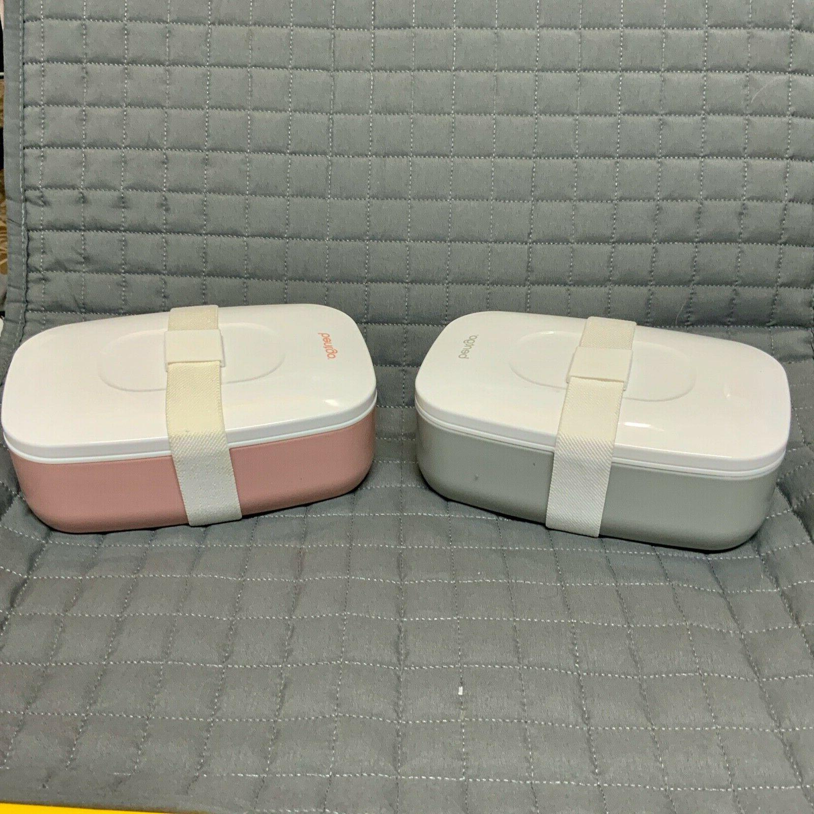 classic stackable lunch box container includes 2