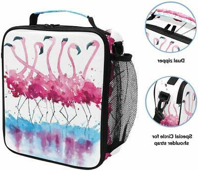 ALAZA Box Pink Insulated Lunch