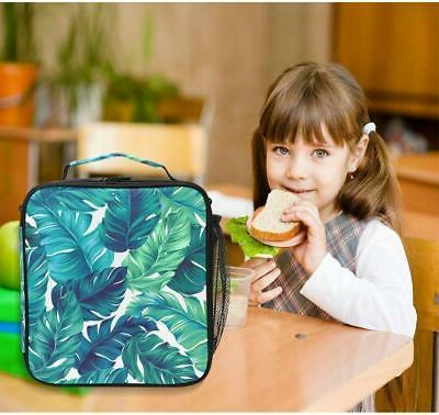 ALAZA Watercolor Tropical Leaves Insulated