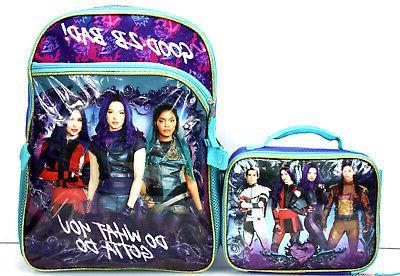 Disney Descendants 2 BACKPACK + LUNCH Box - What Gotta Do!