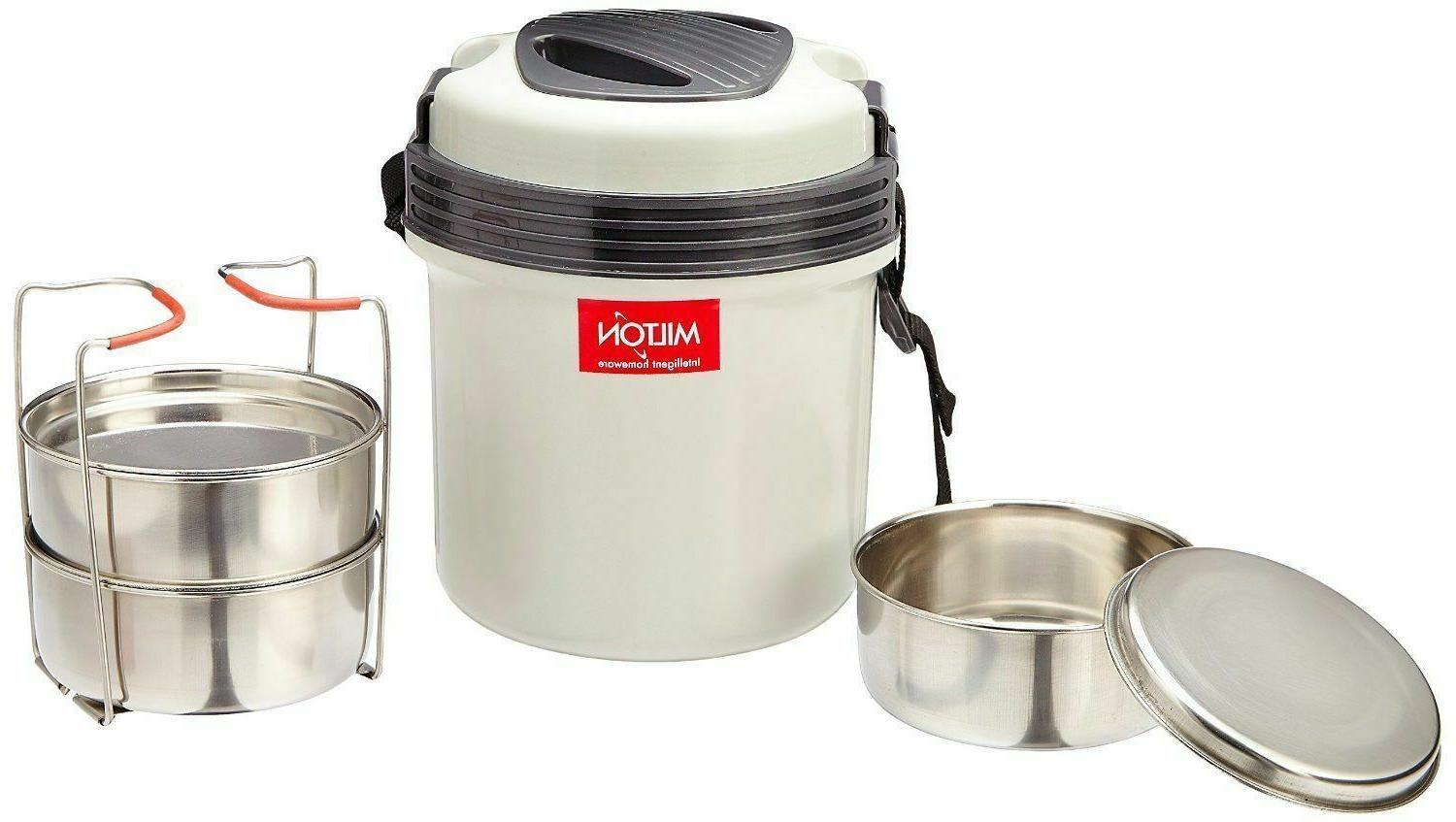 MILTON Electron Hot Box Electric Tiffin -Set MJ