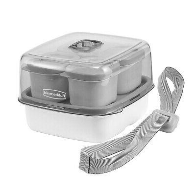 Rubbermaid Fasten Lunch Kit Sandwich Food Containers Tote